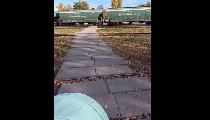 Problēmas ar dzelzceļa staciju Dobelē