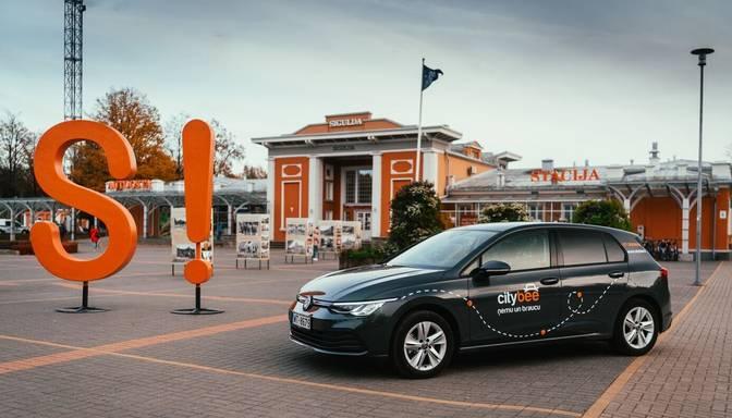 """""""CityBee"""" auto nomas pakalpojums piedāvā arī Siguldā"""