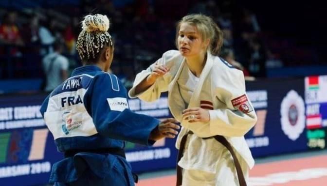 Džudistei Sokirjanskai viena uzvara pasaules junioru čempionāta cīņās