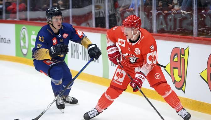 Smirnovs gūst vārtus Šveices čempionātā, Ķēniņam divas rezultatīvas piespēles uzvarā
