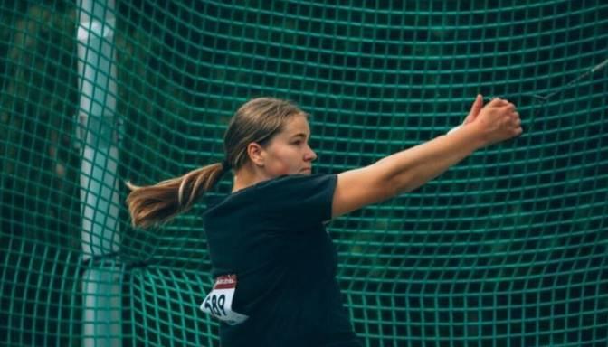 Jansena labo trīs Latvijas jauniešu rekordus vesera mešanā