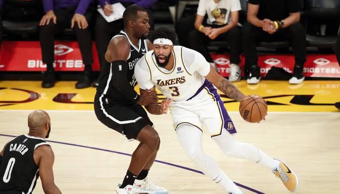 """""""Nets"""" NBA pirmsezonas ievadā grauj """"Lakers"""""""