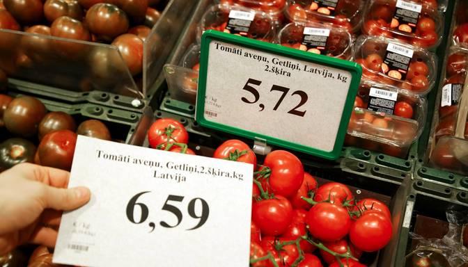 Patēriņa cenas septembrī Latvijā gada laikā pieaugušas par 4,8%