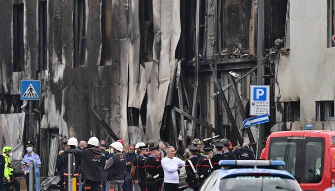 Lidmašīnas avārijā Itālijā astoņi bojāgājušie
