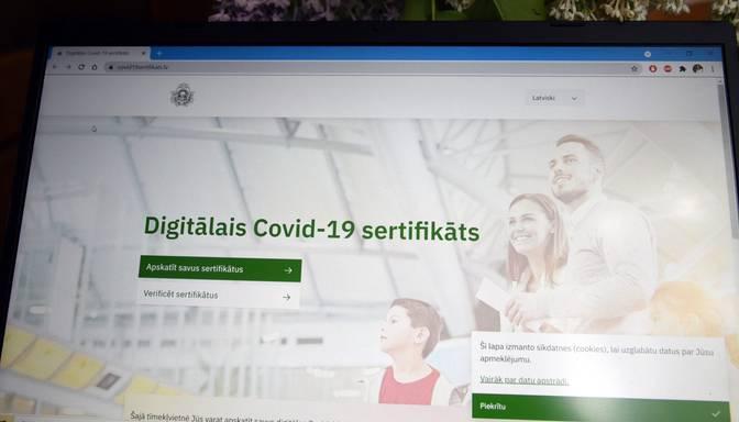 Tehnisku iemeslu dēļ pagaidām nav iespējams izgatavot Covid-19 sertifikātu