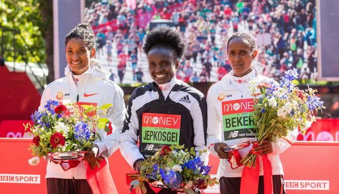Londonas maratonā uzvar Džepkosgei un Lemma