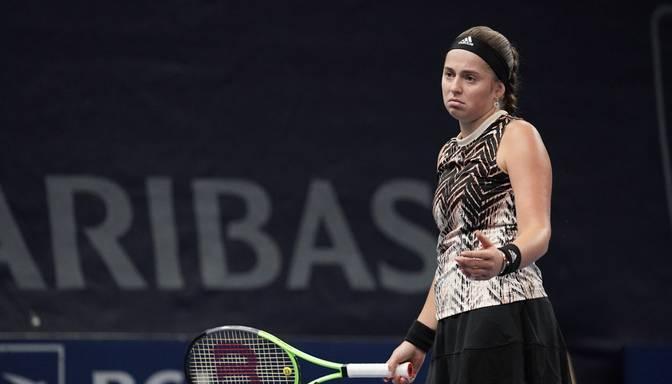 """Ostapenko lūkos sasniegt Indianvelsas """"WTA 1000"""" sērijas turnīra 1/8 finālu"""