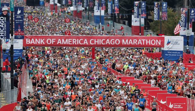 Čikāgas maratonā uzvar Tura un Čepngetiča