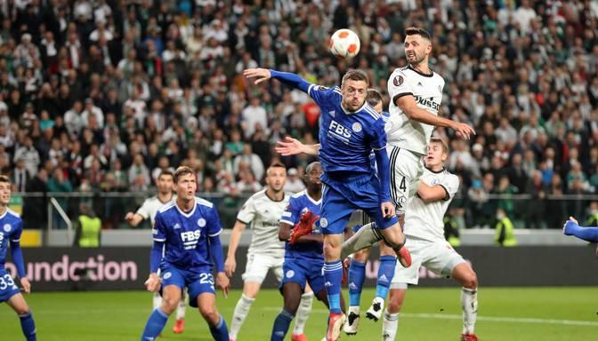"""""""Leicester City"""" un """"Napoli"""" piedzīvo negaidītus zaudējumus UEFA Eiropas līgā"""