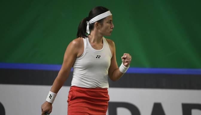 """Sevastova Indianvelsas """"WTA 1000"""" turnīra pirmajā kārtā atspēlē seta deficītu un uzvar slovēnieti Hercogu"""