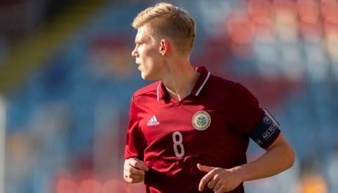 Latvijas U21 futbolisti EČ kvalifikācijas mačā pašā izskaņā piekāpjas Izraēlai
