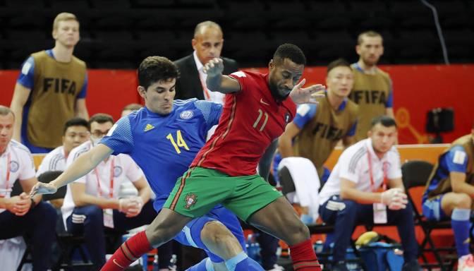 Pasaules kausā telpu futbolā Kauņā par titulu cīnīsies Argentīnas un Portugāles izlases