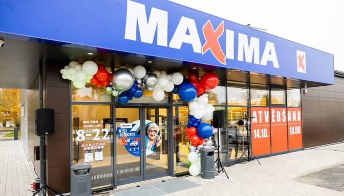 """Rekonstruēts """"Maxima"""" veikals Pļavniekos; investīcijas – miljons eiro"""
