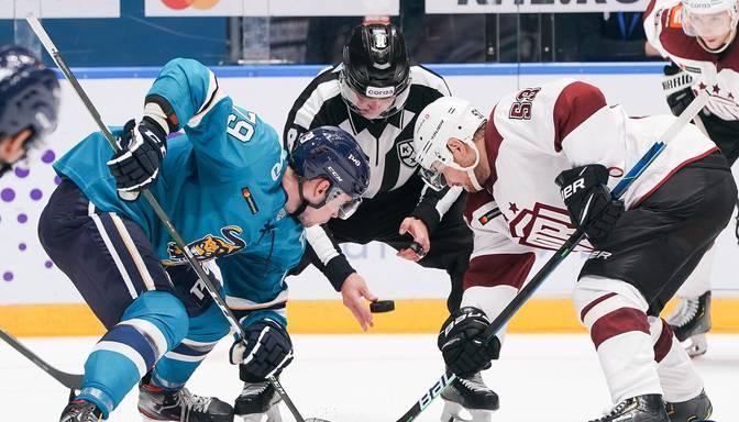 """TEKSTA VIDEO TIEŠRAIDE: KHL. """"Sochi"""" – Rīgas """"Dinamo"""""""