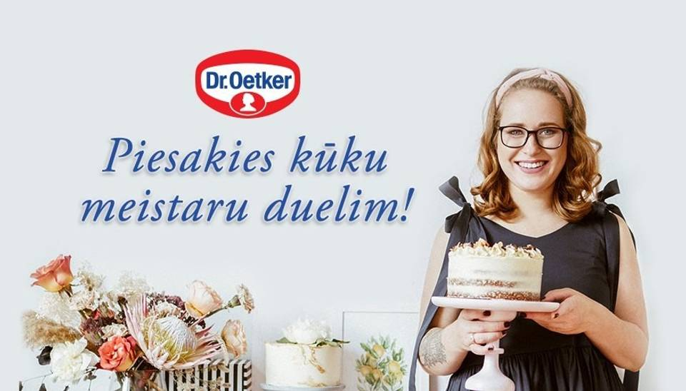 Tev sanāk visgardākās kūkas radu un draugu lokā? Pieņem Dr.Oetker un Annas Pannas izaicinājumu – piedalies kūku duelī!